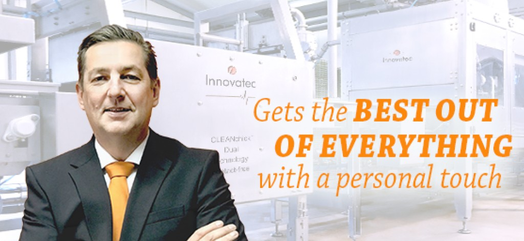 Henk Struving, Sales and Marketing Director Innovatec Hatchery Automation